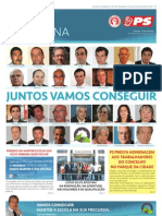 Jornal Campanha Candidatura PS Paredes n.º 1