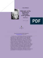 Louis Althusser Philosophy and the Spontaneous Philosophy of the Scientists & Other Essays