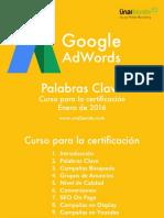 Campañas - Manual de Google Adwords