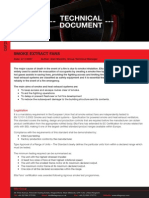 Technical Document on Smoke Extract & Car Park Fans