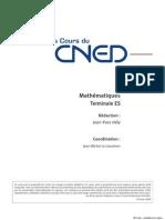 Es Maths - Sommaire-du-cours - 2009    CNED  Al7ma01tepa0009
