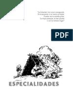 Especialidades Tropa 2014