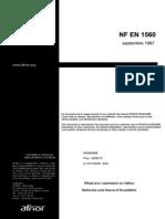 NF EN 1560