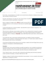 G1 - Impunidade impede avanços de Brasil como 'democracia influente', diz ONG - notícias em Mundo