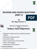 Revision and Solved Questions