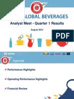 Analyst Presentation 2013 14 q1 Results