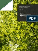 Relatório de Gestão de 2012