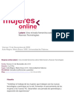 Mujeres Online Difusion