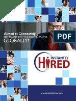 Job Portal Brochure