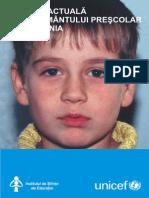 Situatia actuala a Invatamantului Prescolar din Romania