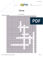 Tarzan Crossword Puzzle