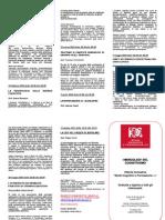Brochure Mercoledi Cognitivismo