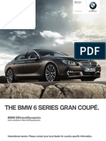 BMW 6 series GranCoupe Catalogue