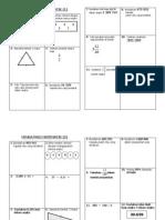 Minda Pagi Maths (Sambungan)