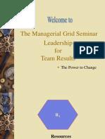 Managerial Grid Presentation