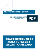 Sistema de Agua Potable y Alcantarrillado