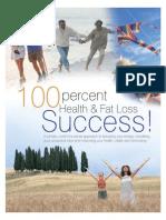 100 Percent Health Fat Loss Success