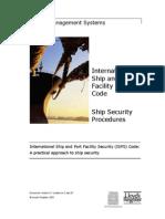 ISPS Code - Security Procedures