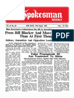 The Spokesman Weekly Vol. 31 No. 48 August 16, 1982