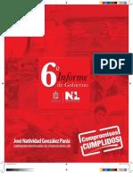 6o Informe de Gobierno, 2009 | Suplemento