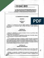 Ley 1696 Del 19 de Diciembre de 2013 Borrachos
