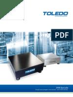 Balanças 50 Kg Toledo 2090 catálogo