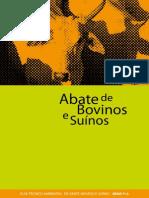 Guia Técnico Ambiental de Abate (Bovino e Suíno)
