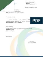 Memo nº 633 Pedido de Medicamento BARCO - RIO AMAZONAS JUL