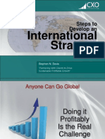 Developing Your International Market Strategy