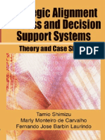 Strategic Alignment Process and Decision Support Systems