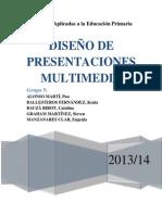Grupo 5. Diseño de presentaciones multimedia. Por P. Alonso, K. Ballesteros, C. Bauzà, S. Graham y E. Manzanares