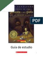Novela, Guia y Estudio Historia Gaviota Gato Enseñó a Volar