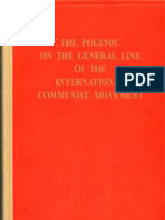 the polemic on the general line of the international communist movement