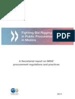 Report Fighting Big Rigging in Public Procurement in Mexico 2011