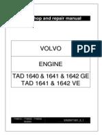 VOLVO PENTA TAD 1640 & 1641 & 1642 GE TAD 1641 & 1642 VE