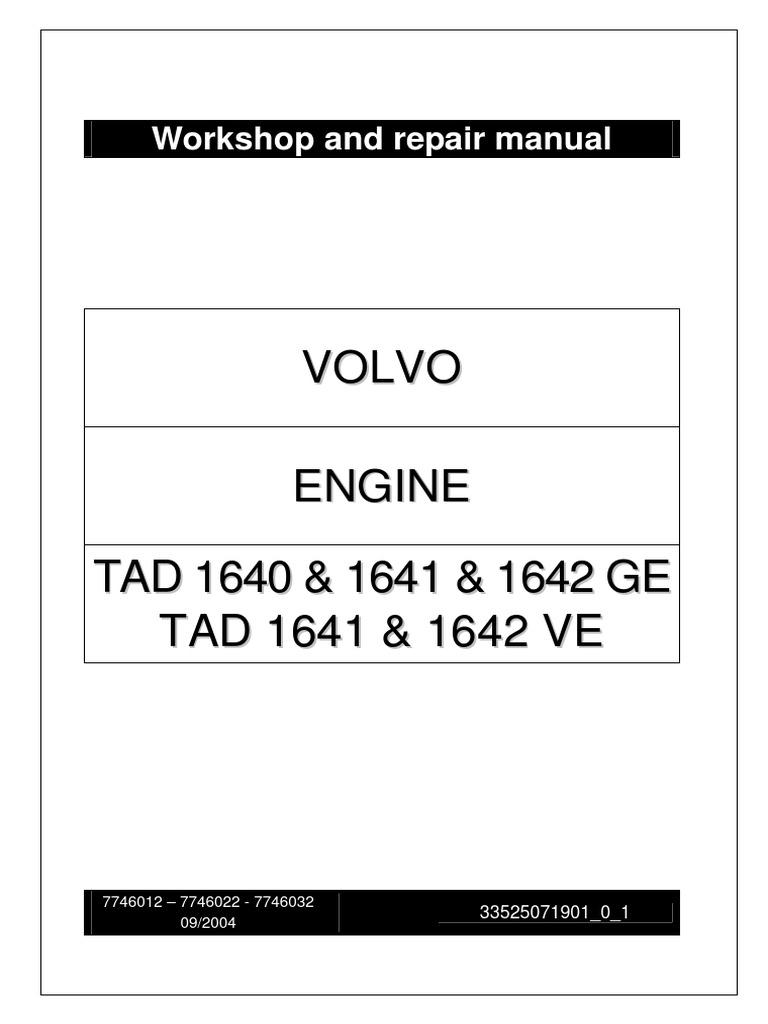 volvo penta tad 1640 1641 1642 ge tad 1641 1642 ve piston rh es scribd com Volvo Penta Wiring Harness Volvo Penta Wiring-Diagram