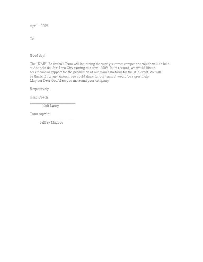 Solicitation letter 2 stopboris Images