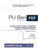 Regional Market Preparation for Energy Efficiency Services in Public Buildings