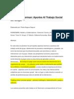 Natalio Kisnerman Aportes Al Trabajo Social de Grupo