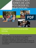 Características y funciones de los grupos (1)