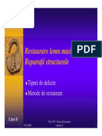 Curs8_Restaurare Lemn Masiv