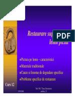 Curs12 Restaurare Lemn Pictat PDF