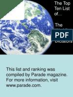 Top+Ten+Dictators+in+the+World