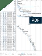 Microsoft Project chart