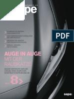 Sapa Group - Shape Magazine Deutsch 2010 #1