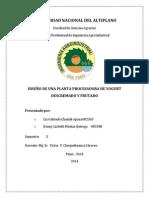 INFORME FINAL DISEÑO DE PLANTAS