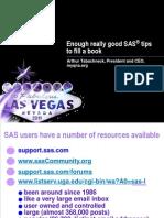 Enough Really Gookkkd SAS Tips to Fill a Book[1]
