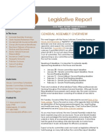 Indiana Legislative Update # 2