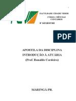 Apostila 2010-1 INT.ATUÁRIA-C.C