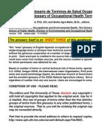 SWCOEH 2.0 OH Glossary English-Spanish